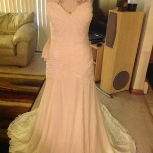 Women dress BeBe SILK Strapless size 10, 6, 2 NWT